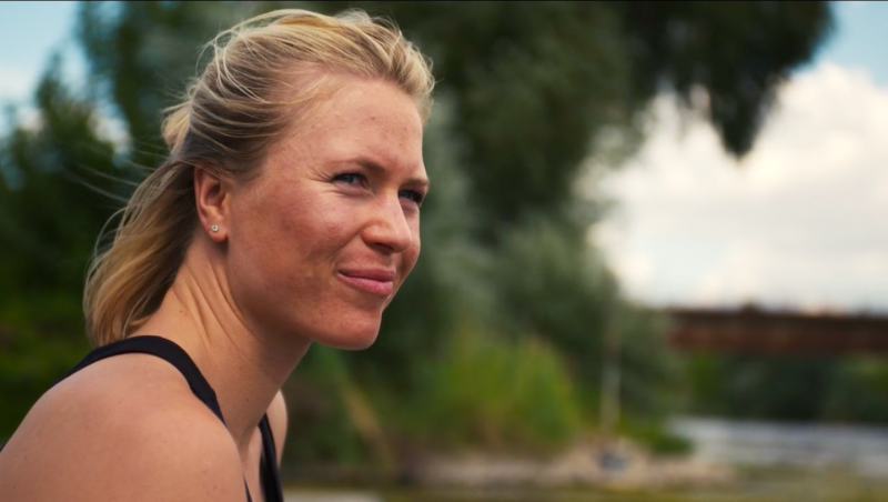Julia Lier is rower and olympic gold medal winner in double foursome 2016 and demands appreciation for women's performances at brave stories