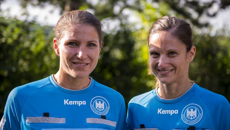 Maike Merz und Tanja Schilha are referees in handball for women and men and idols at brave stories