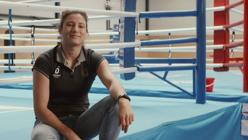 Sarah Scheurich German Boxing Champion fights against abuse at sports practice with coach don't touch me brave stories