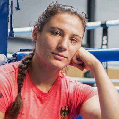 Sarah Scheurich German box champion and fighter against abuse at sport practice coach don't touch me at brave stories