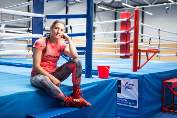 Sarah Scheurich the German box champion is strong against abuse at sporting practice coach don't touch me brave stories