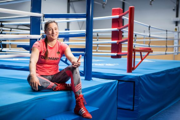 Sarah Scheurich fighter and German box champion strong against abuse with coach don't touch me brave stories